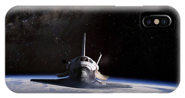 Space Ships iPhone Case - Final Frontier by Peter Chilelli