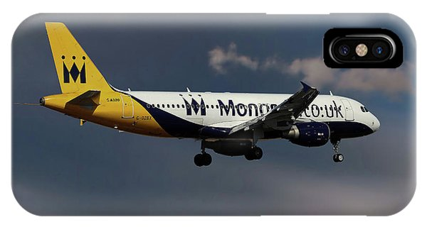 Monarch iPhone Case - Final Landing  by Smart Aviation