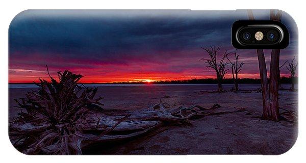 Final Sunset IPhone Case