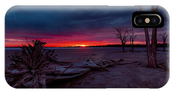 IPhone Case featuring the photograph Final Sunset by Julian Cook