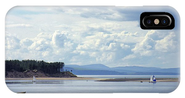 Findhorn Bay - Moray Firth IPhone Case