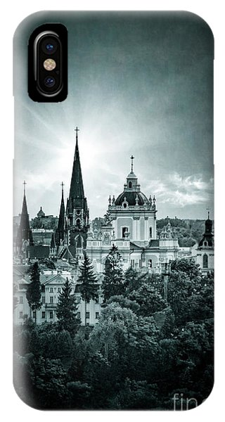 Mono iPhone Case - Finding Faith by Evelina Kremsdorf