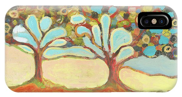 Landscape iPhone Case - Finding Strength Together by Jennifer Lommers