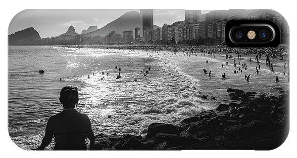 Fine Art Copacabana Rio De Janeiro, Brazil IPhone Case