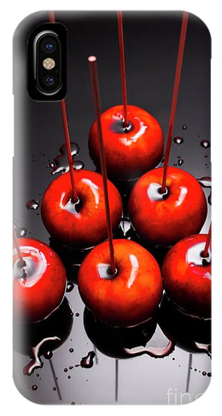 Fair iPhone Case - Fine Art Toffee Apple Dessert by Jorgo Photography - Wall Art Gallery
