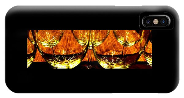 Fine Wine And Dine 3 IPhone Case