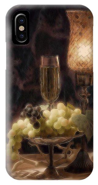 Vino iPhone Case - Fine Wine Still Life by Tom Mc Nemar