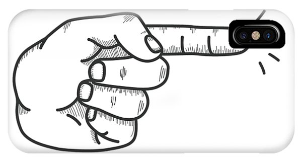 Fingered IPhone Case
