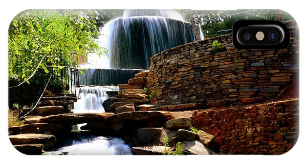 IPhone Case featuring the photograph Finlay Park Columbia Sc Summertime by Lisa Wooten