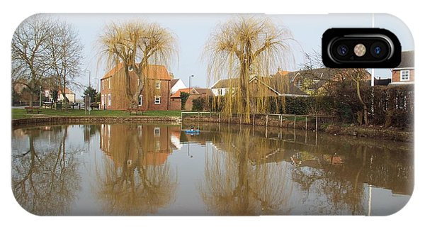 Finningley Pond IPhone Case