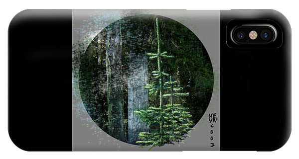 Fir Trees - 3 Ages IPhone Case