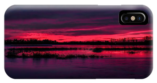 Fire And Ice Sunrise IPhone Case