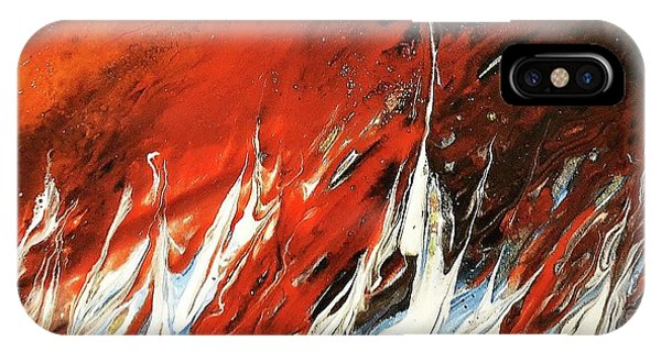 Fire And Lava IPhone Case