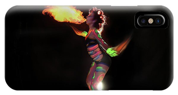 Fire Blowin IPhone Case