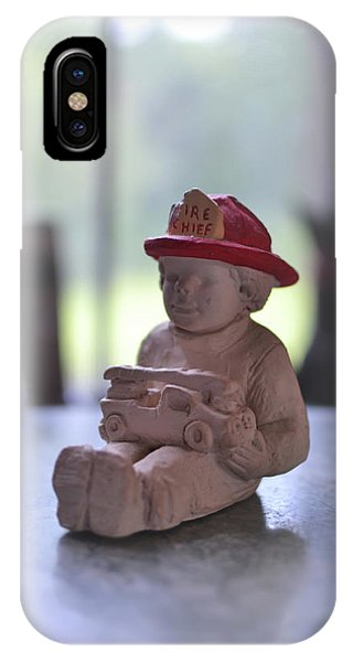 Fire Chief Molded Stone IPhone Case