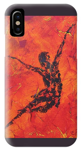Fire Dancer IPhone Case