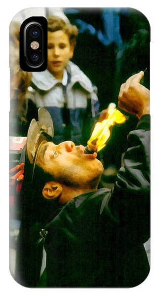 Fire Eater IPhone Case