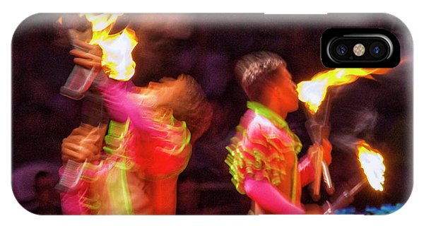 iPhone Case - Fire Eaters by Ron Morecraft