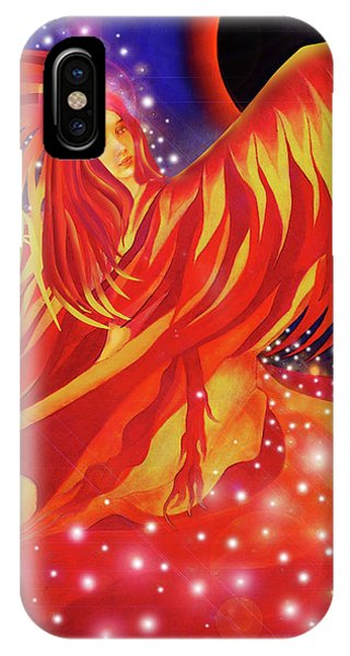 Fire Fairy IPhone Case
