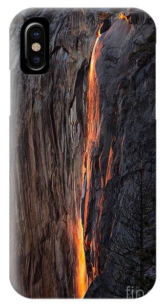 Fire Fall IPhone Case