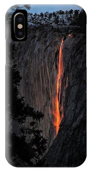 Beautiful Sunrise iPhone Case - Fire Fall by Edgars Erglis