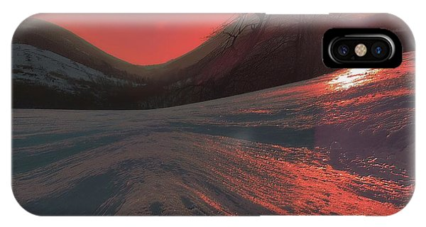Fire Frost IPhone Case