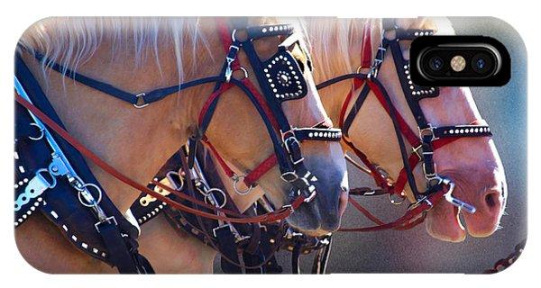 Fire Horses IPhone Case
