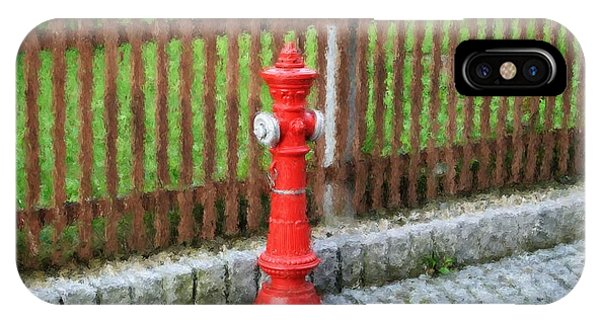 Fire Hydrant IPhone Case