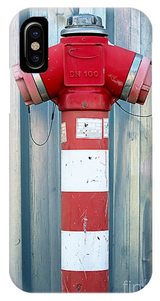 Fire Hydrant Steel Wall IPhone Case