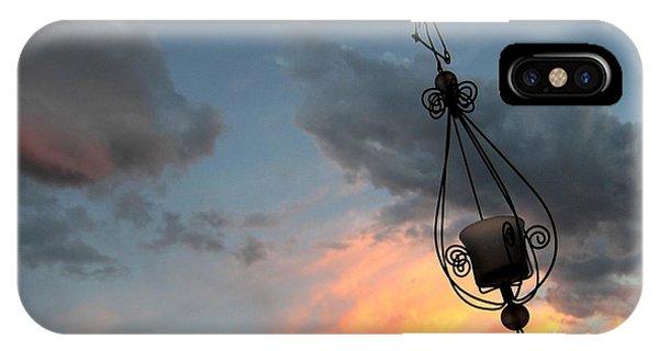 Fire In The Clouds IPhone Case