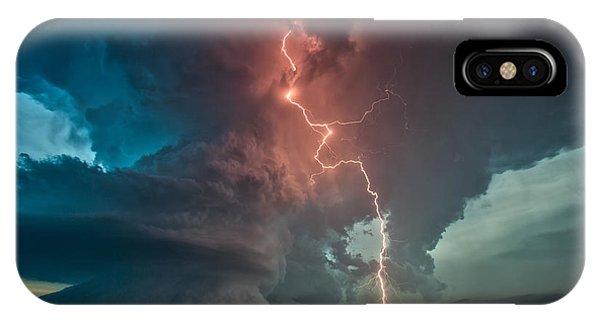 Fire In The Sky. IPhone Case
