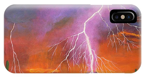 Rocky Mountain iPhone Case - Fire In The Sky by Johnathan Harris