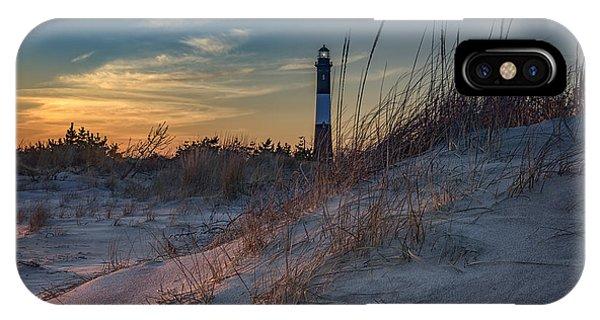 Navigation iPhone Case - Fire Island Dunes by Rick Berk