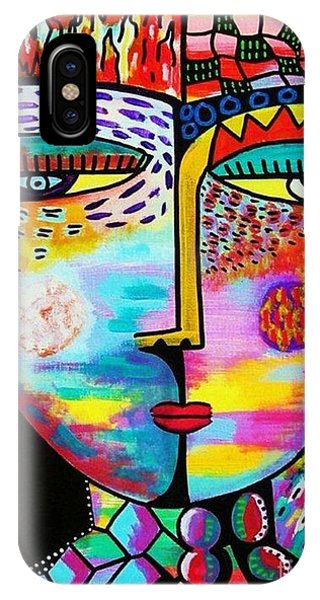 Fire Lava Goddess IPhone Case