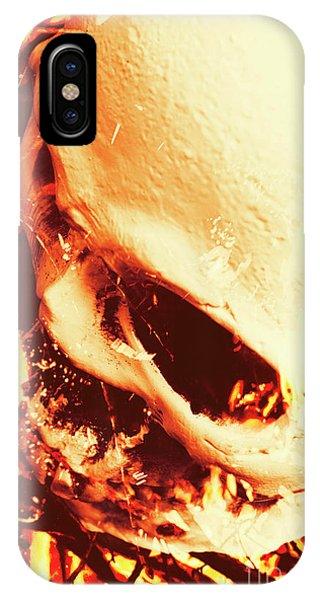 Danger iPhone Case - Fire Of Doom by Jorgo Photography - Wall Art Gallery