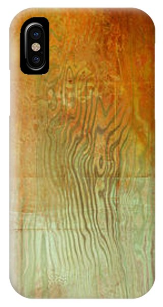 IPhone Case featuring the painting Fire On The Mountain - Abstract Art by Jaison Cianelli