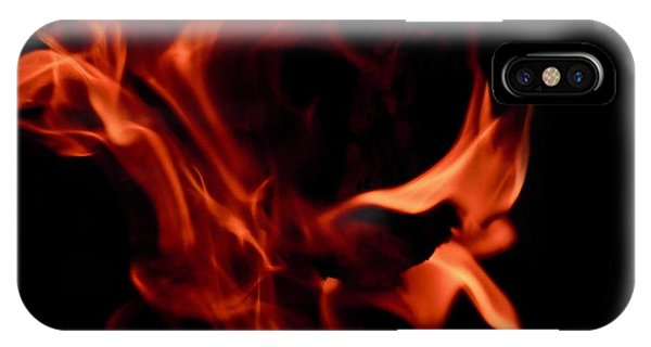 Fire Petals IPhone Case