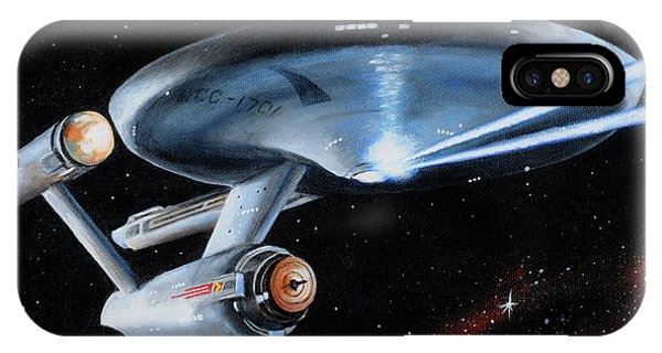 Fire Phasers IPhone Case