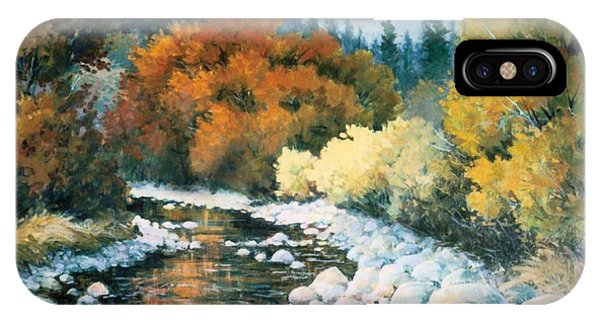 Fire River Phone Case by JoAnne Corpany