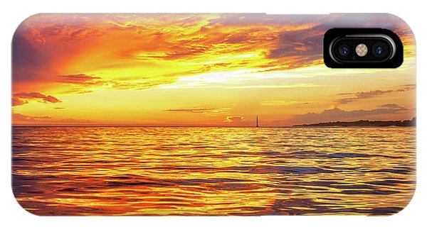 Fire Skies Phone Case by Steve Spiliotopoulos