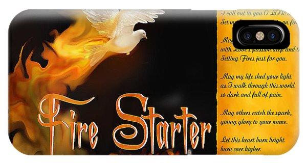 Fire Starter Poem IPhone Case