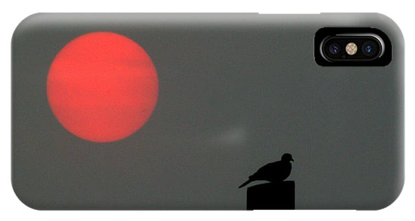 Fire Sun Sentinel IPhone Case