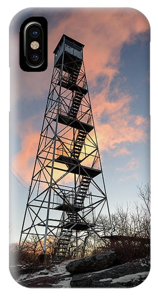Fire Tower Sky IPhone Case