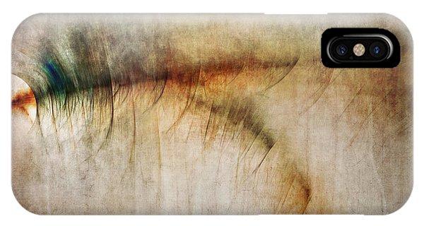 Fractal Landscape iPhone Case - Fire Walk With Me by Scott Norris