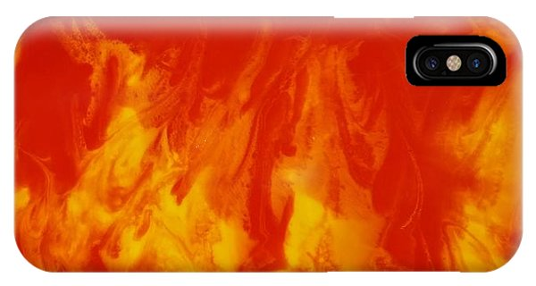 Fire Within IPhone Case