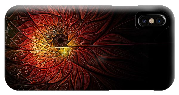 iPhone Case - Fireball by Amanda Moore
