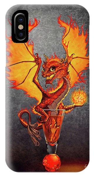 Fireball Dragon IPhone Case