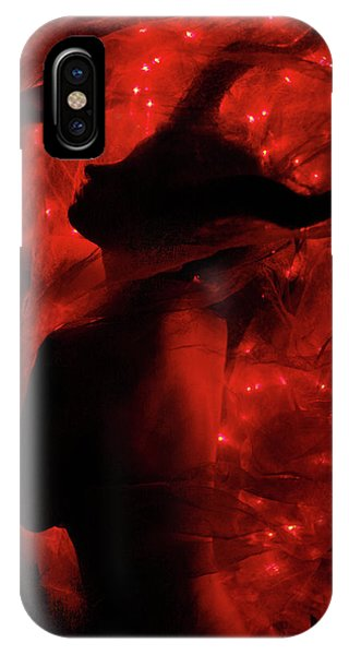 Shadow iPhone Case - Fireborn II by Cambion Art