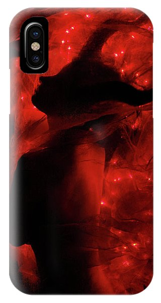 Horn iPhone Case - Fireborn II by Cambion Art