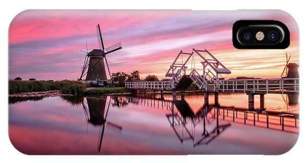 Fired Sky Kinderdijk IPhone Case